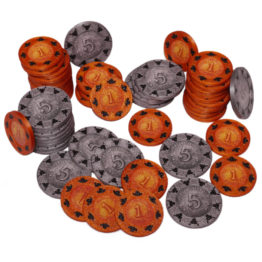 Brettspiel Boardgame Great Western Trail Münzen Hüllen Coin Cases