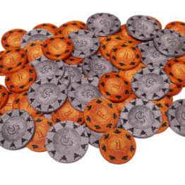 Brettspiel 3D Druck Upgrate Münzen Hüllen Coin Cases Great Western Trail Eurohell Design