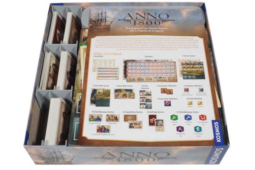 ANO-I-01 Anleitung Inlay Anno 1800 Brettspiel 7