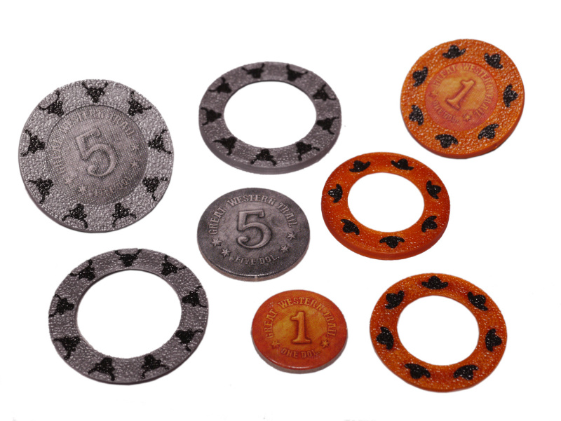 GWT-S-01 Coin Sleeves Great Western Trail